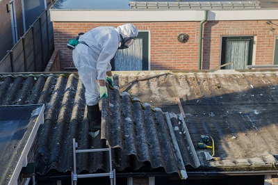 Can You Throw Away Asbestos in a Dumpster Rental?